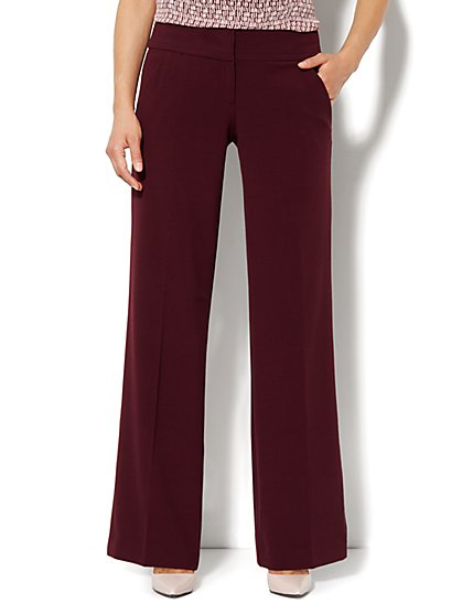 7th Avenue Wide Leg Trouser - Average - New York & Company