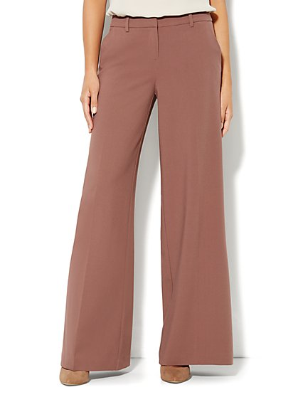 7th Avenue Wide Leg Trouser - New York & Company