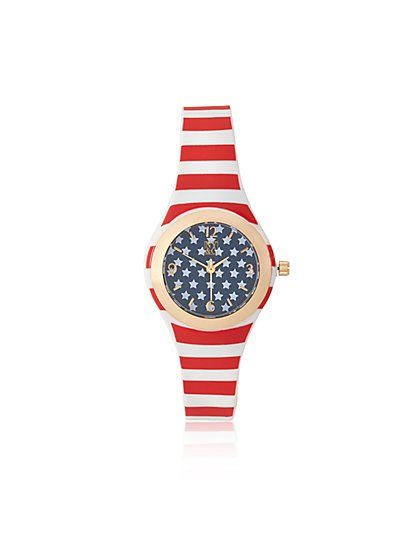 Americana Stripe Watch  - New York & Company