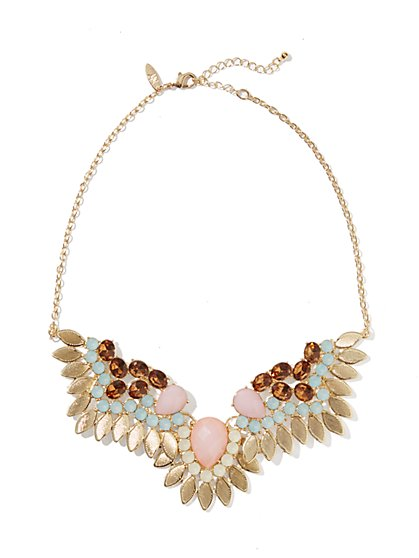 Angel Wing Jeweled Necklace