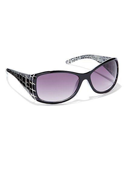 Animal Printed Sunglasses - New York & Company