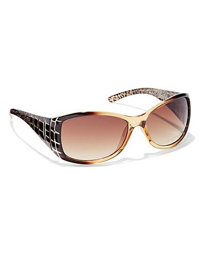 Animal Printed Sunglasses - New York & Company