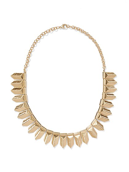 Arrow Bib Necklace  - New York & Company