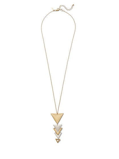 Arrow Pendant Necklace  - New York & Company