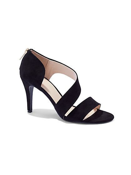 Asymmetrical High-Heel Sandal  - New York & Company
