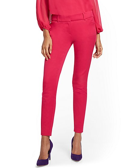 Audrey Slim-Leg Pant - Solid - New York & Company