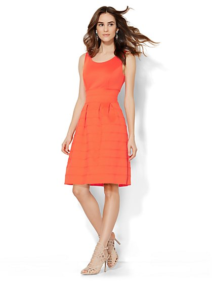 Bandage Flare Dress  - New York & Company