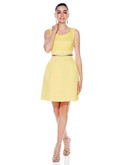 Bandage Flare Dress  - New York & Company
