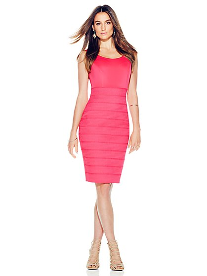 Bandage Sheath Dress  - New York & Company