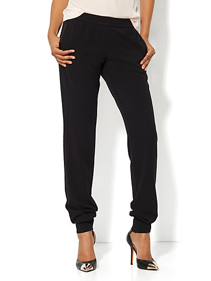 Banded Ankle Soft Pant - New York & Company
