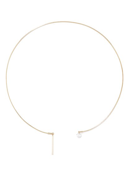 Bar Collar Necklace  - New York & Company