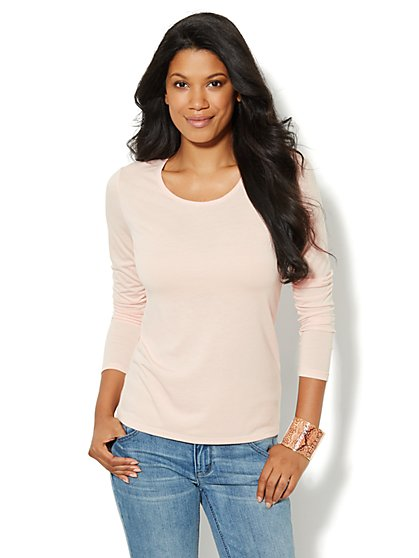 Basic Scoopneck Top - New York & Company