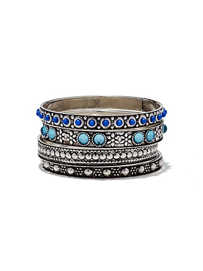 Beaded Bangle Set - New York & Company