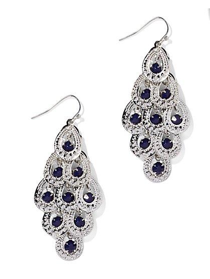 Beaded Chandelier Earring  - New York & Company