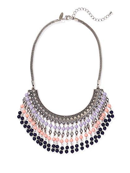 Beaded Collar Necklace  - New York & Company