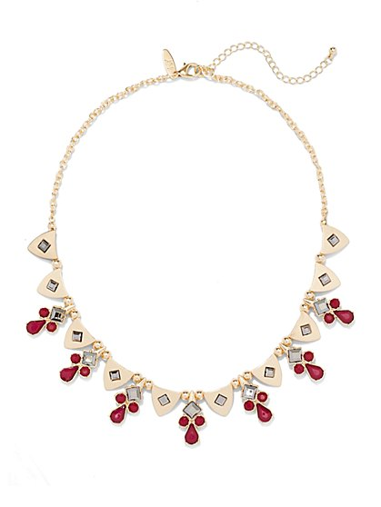 Beaded Collar Necklace  - New York & Company