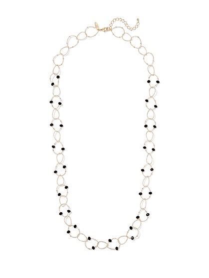 Beaded Link Necklace  - New York & Company