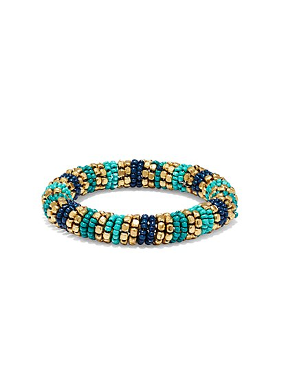 Beaded Stretch Bracelet  - New York & Company