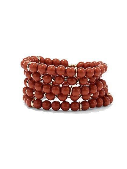 Beaded Stretch Bracelet  - New York & Company