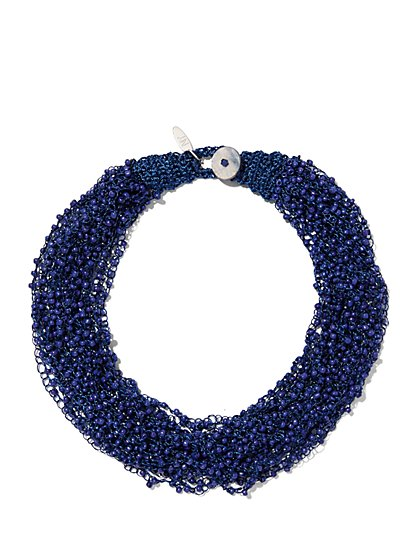 Beaded Torsade Necklace  - New York & Company