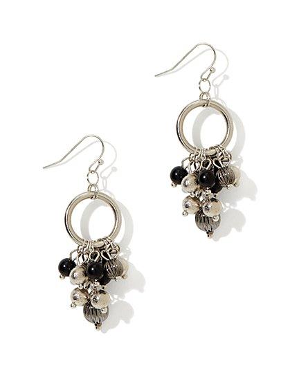 Beads & Hoop Jangle Earring - New York & Company