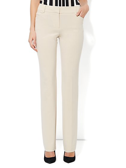 Bleecker Street City Double Stretch Straight Leg Pant - Petite