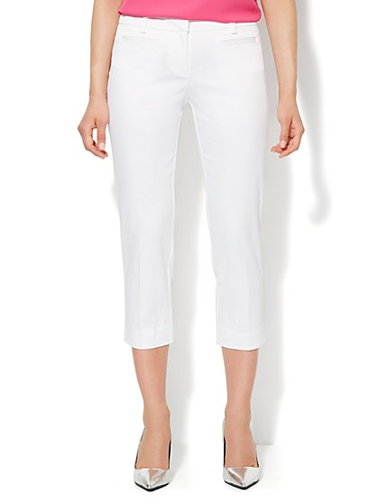 Bleecker Street Pant - Crop - Twill  - New York & Company