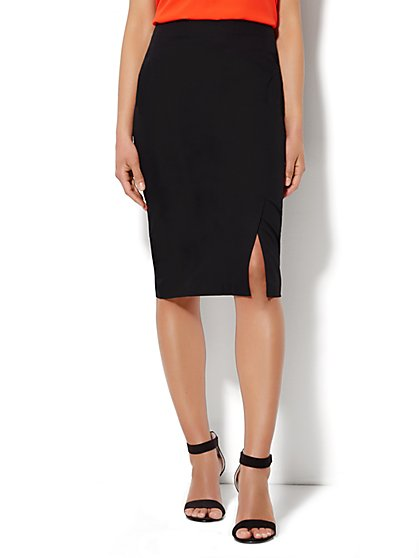 Bleecker Street Pencil Skirt - Solid  - New York & Company