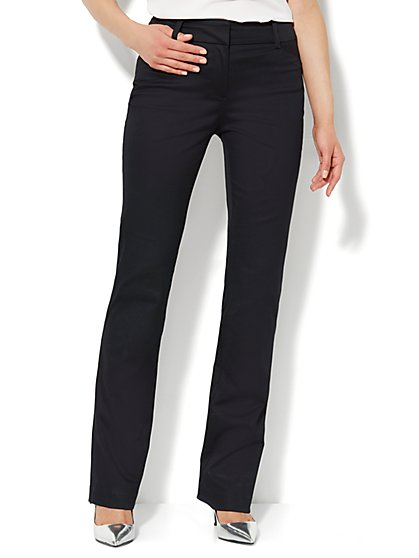 Bleecker Street Straight-Leg Pant - Cotton - Tall - New York & Company