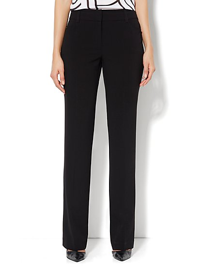 Bleecker Street Straight-Leg Pant - Stretch - Average - New York & Company