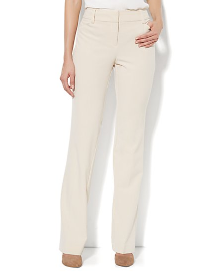 Bleecker Street Straight-Leg Pant - Stretch - Petite  - New York & Company