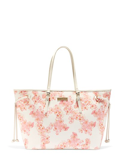 Blush Floral Tote - New York & Company