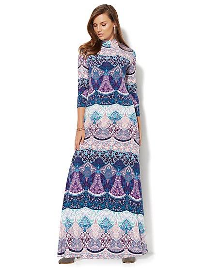 Bohemian Maxi Dress - Petite   - New York & Company
