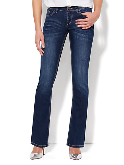Bootcut Jean - Dark Tide Wash - Petite - New York & Company