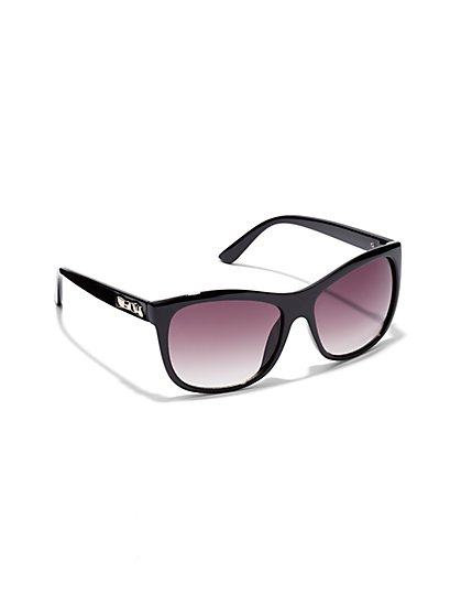 Bow Accent Sunglasses  - New York & Company