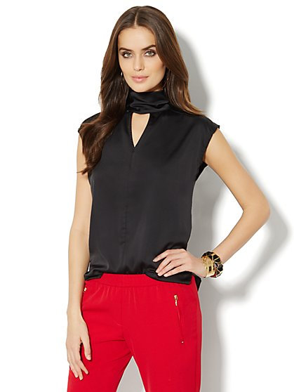 Bow-Back Blouse  - New York & Company