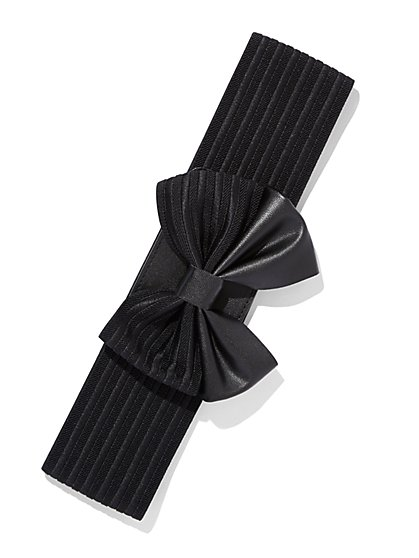 Bow-Trim Stretch Belt  - New York & Company