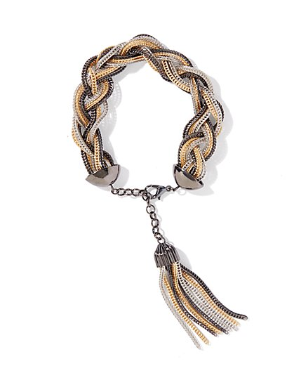 Braided Chain Bracelet - New York & Company