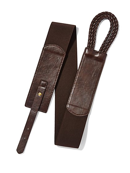 Braided Loop Belt  - New York & Company