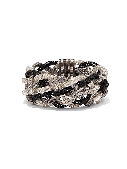 Braided Mesh Bracelet  - New York & Company