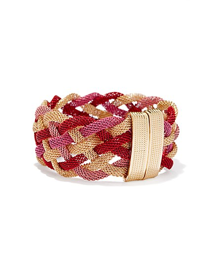 Braided Mesh-Rope Bracelet