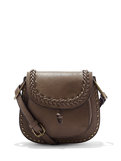 Braided Saddle Bag - New York & Company