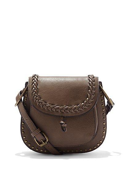 Braided Saddle Bag - New York & Company