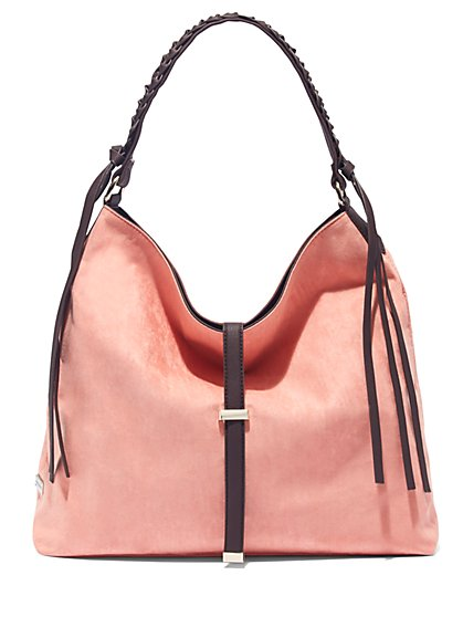 Braided-Strap Hobo Bag  - New York & Company