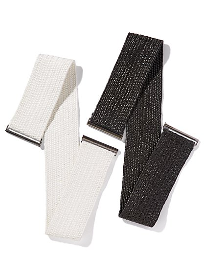 Braided Stretch Belt  - New York & Company