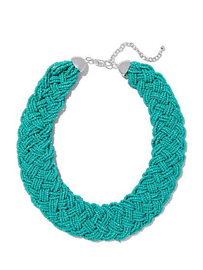 Braided Torsade Necklace  - New York & Company