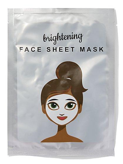 Brightening Facial Sheet Mask - New York & Company