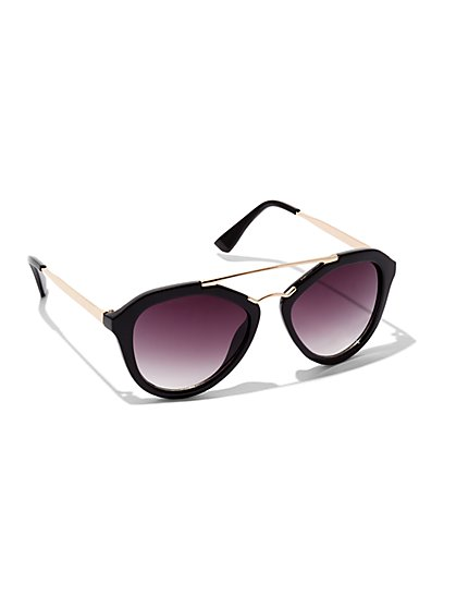 Brow-Bar Sunglasses  - New York & Company