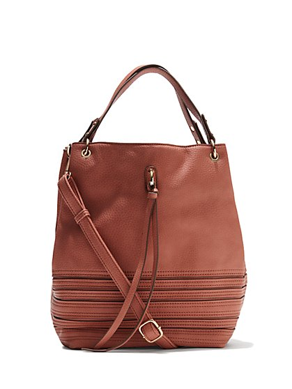 Bucket Shoulder Bag  - New York & Company