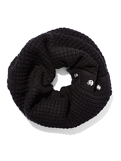 Button-Accent Snood  - New York & Company